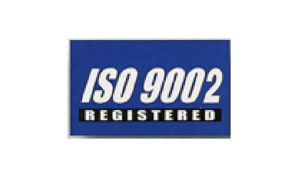 Blue ISO 9002 Flag made of Nylon