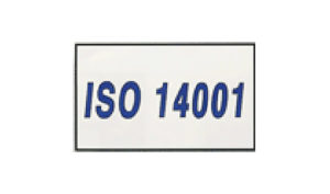 White ISO 14001 Flag made of Nylon