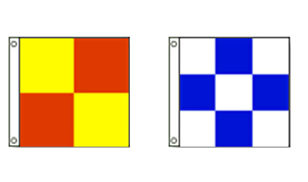 Checkered Attention Flags