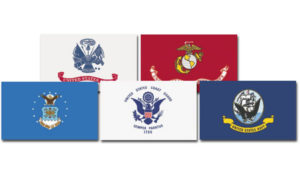 Military Flags Set
