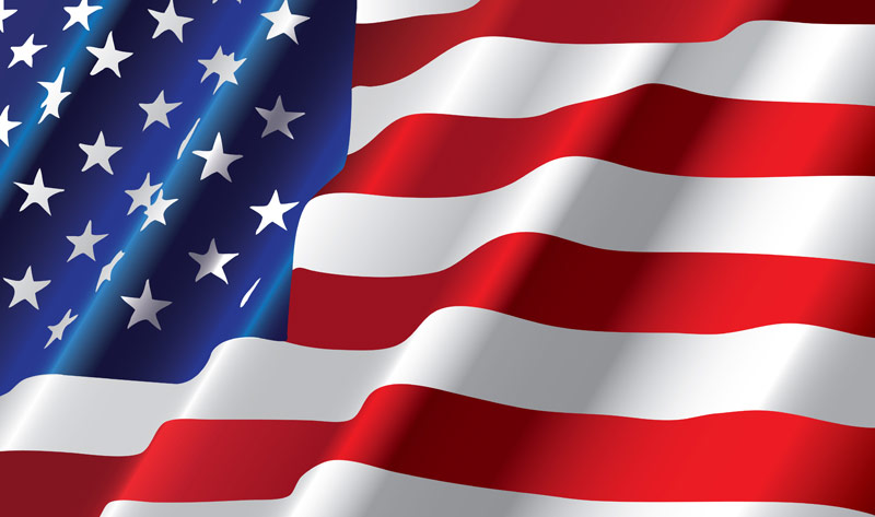 8/'x12/' American Double-Ply Polyester Flags