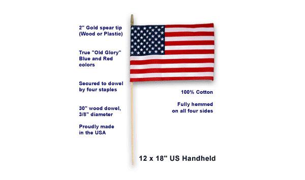 12″x18″ U.S. Spearhead