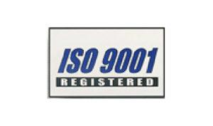 White ISO 9001 Flag made of Nylon
