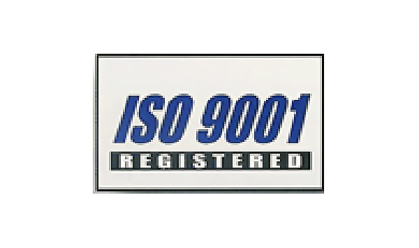 White ISO 9001 Flag made of Nylon