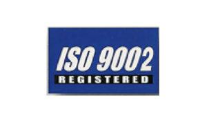 Blue ISO 9002 Flag made of Nylon
