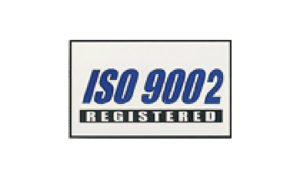 White ISO 9002 Flag made of Nylon