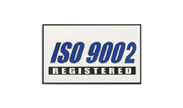 White ISO 9002 Flag made of Nylon
