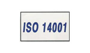 White ISO 14001 Flag made of Nylon