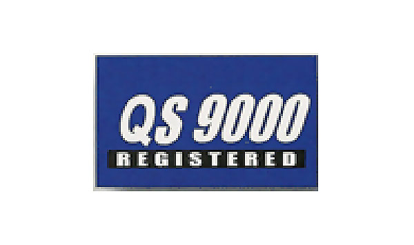 Blue  QS  9000 Flag made of Nylon