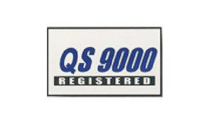 White QS 9000 Flag made of Nylon