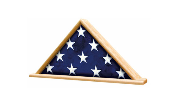 Flag Case Triangle with Base