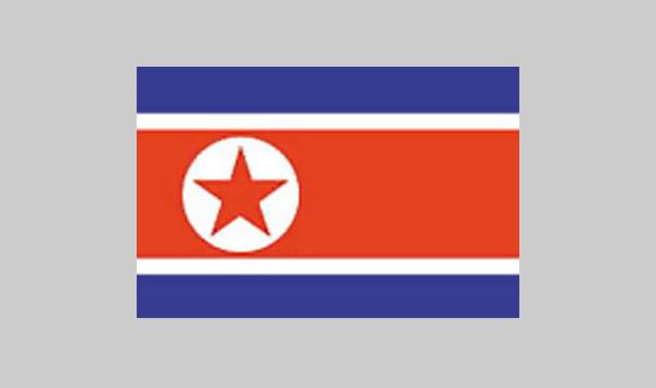 Korea, North Flag