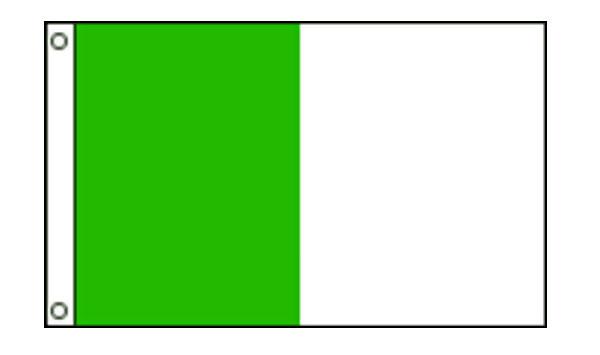 Nylon Vertical 2-Stripe Flags