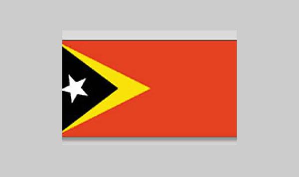 Timor L'Este (East Timor) Flag