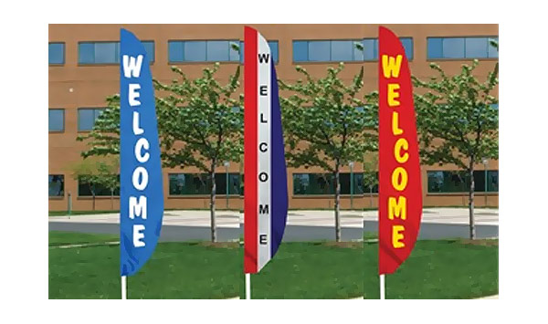 Welcome Feather Flags