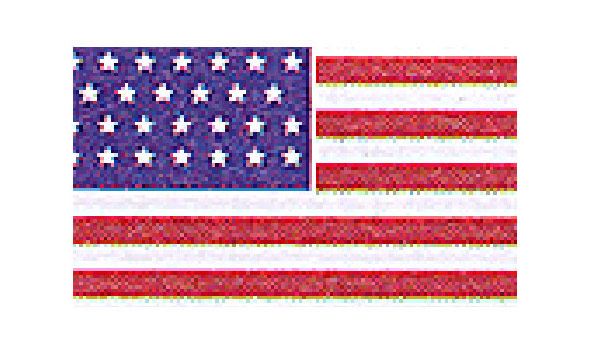 United States Historical Flag Union Civil War- 34 Star