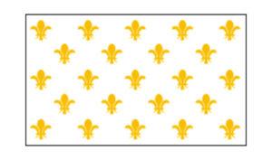 Fleur-De-Lis (White 23) Flag