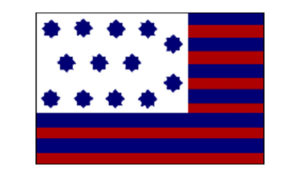 United States Historical Guilford Courthouse Flag