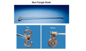 Outrigger Flagpole Non-Tangle Rods