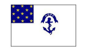 United States Historical Flag Rhode Island Regiment