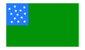 United States Historical Green Mountain Boys Flag
