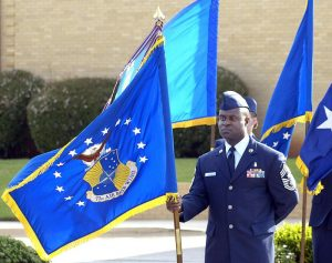 Air Force flag ceremony