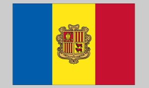 Flag of Andorra (Nylon)