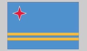 Flag of Aruba (Nylon)