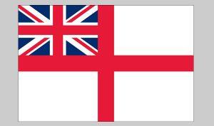 Flag of British Navy (Nylon)