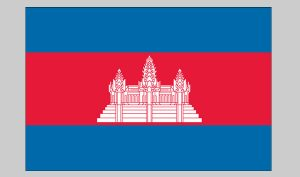 Flag of Cambodia (Nylon)