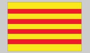 Flag of Catalonia (Nylon)