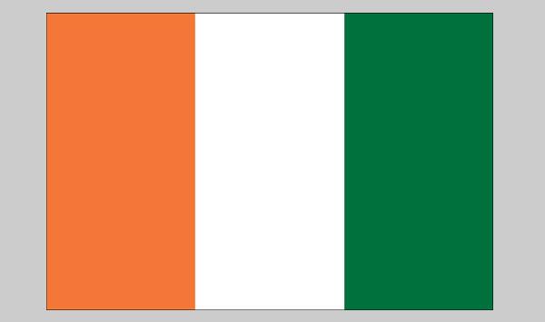 Cot D'ivoier Flag