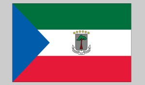 Flag of Equatorial Guinea (Nylon)