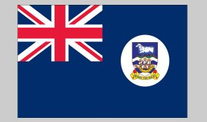 Flag of Falkland Islands (Nylon)