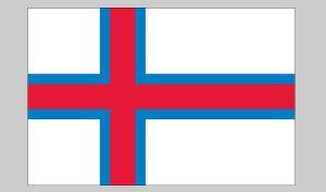 Flag of Faroe Islands (Nylon)