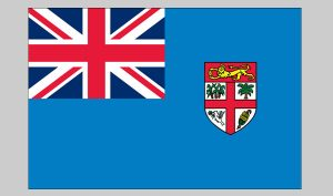Flag of Fiji (Nylon)