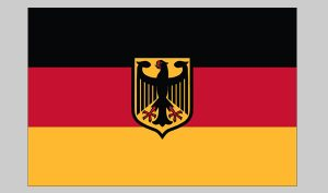 Flag of Germany (eagle) (Nylon)