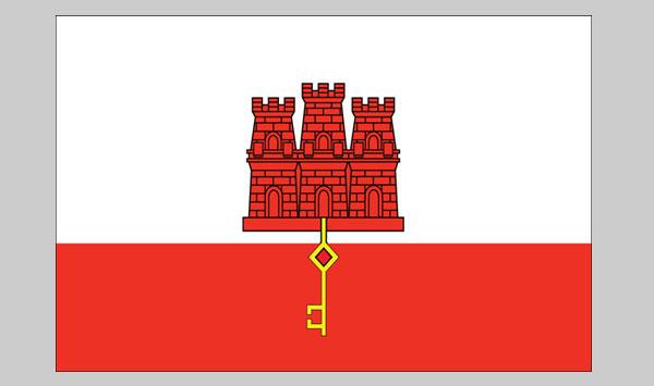 Gibralta Flag