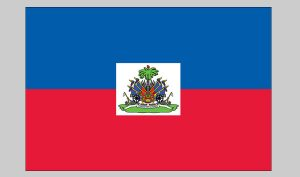 Flag of Haiti (Seal) (Nylon)