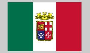Flag of Italian Ensign (Nylon)