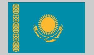 Flag of Kazakhstan (Nylon)