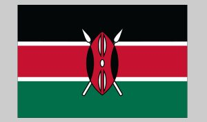 Flag of Kenya (Nylon)
