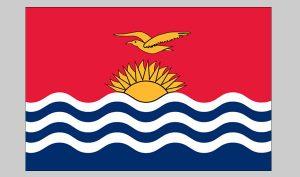 Flag of Kiribati (Nylon)