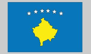 Flag of Kosova (Nylon)