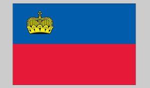 Flag of Liechtenstein (Nylon)