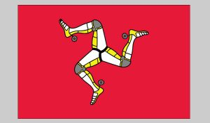 Flag of Man (Isle of) (Nylon)