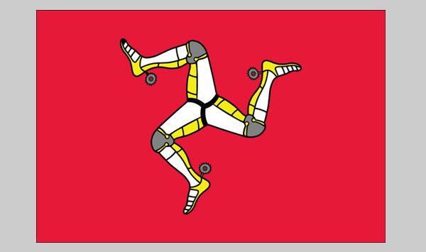Man Isle of Flag