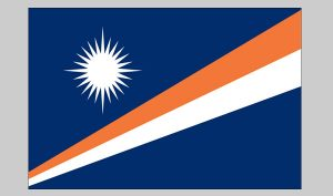 Flag of Marshall Islands (Nylon)