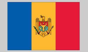 Flag of Moldova (Nylon)