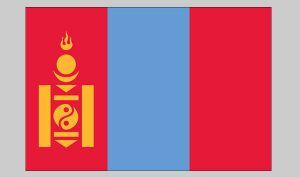 Flag of Mongolia (Nylon)